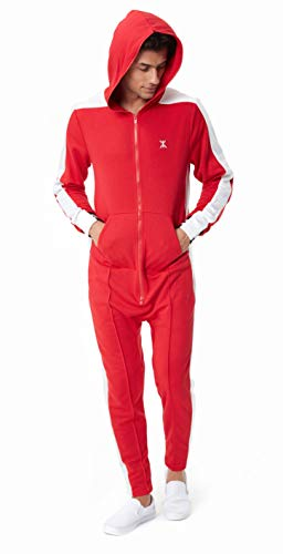 OnePiece Damen Jumpsuit Unisex Rider Retro, Rot (Red) Small - 3