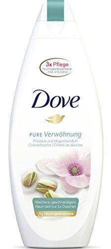 Dove Cura Docciaschiuma al pistacchio e al profumo di magnolia, Gel Doccia, Confezione da (6X 250ML)