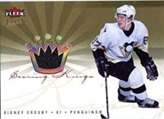 Sidney Crosby Unsigned 2006-07 Fleer Ultra Jersey Card - Hockey Game Used Cards