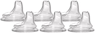 6 Packs of NUK Replacement Silicone Spout, Clear