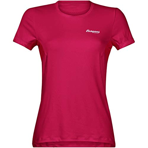 Bergans Fløyen Femmes T-Shirt XS Rouge XS