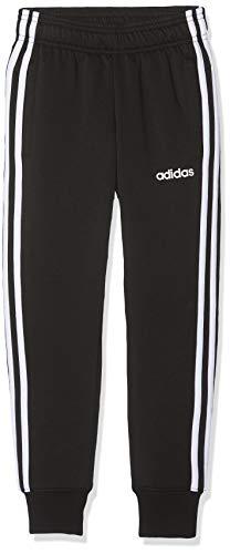 Adidas Youth Boys Essentials 3 Stripes, Pants Bambino, Black/White, 11-12A