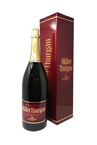 Scatola con vino bianco Müller-Thurgau magnum