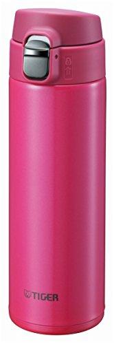 Botella de Agua Potable Tigre 480ml Recta de Acero Mini Botella Taza del Sahara sueño Ligero Gravedad pasión Pink MMJ-A048-PA Tigre