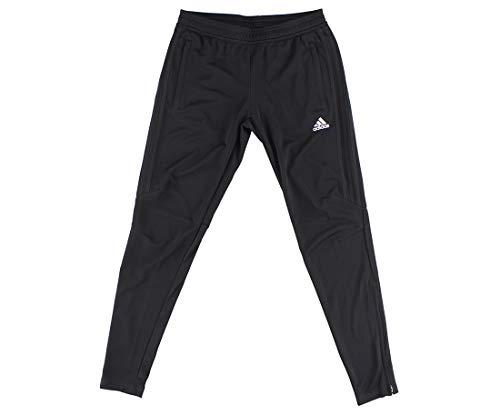 adidas Women's Soccer Tiro 17 Training Pants, Black/Black, Medium