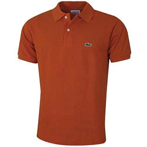 Lacoste L121200 T Shirt Polo, Briquette, XL Uomo