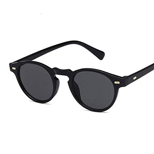 DGSDFGAH Gafas De Sol Mujer Gafas De Sol Polarizadas para Hombres/Mujeres Retro Moda Unisex Gafas De Sol Retro Clásicas Negras Mujer Hombre