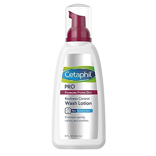 Cetaphil Pro Sensitive Gesichtsreiniger   236 ml   bei Rötungen oder zu Rosacea neigender Haut   dermatologisch getestet