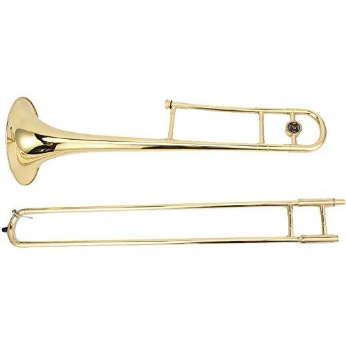Tragbares Blasmusikinstrument Messing Alto flache Posaune für Schüler für Leistung