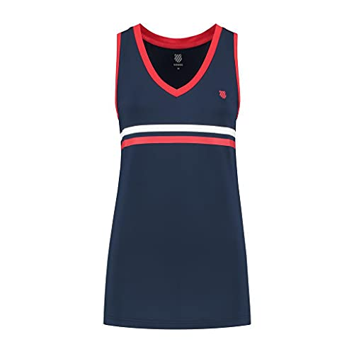 K-Swiss Heritage Sport - Camiseta de tenis para mujer (talla...