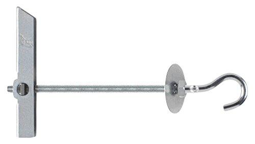 INDEX Fixing Systems VBAGAM04 [BA-GA] Basculante por gravedad para la fijación de elementos ligeros en falsos techos/GRAVITEX. Gancho Ø12, M4, diámetro de 12 mm