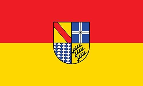 Unbekannt magFlags Tisch-Fahne/Tisch-Flagge: Karlsruhe (Kreis) 15x25cm inkl. Tisch-Ständer