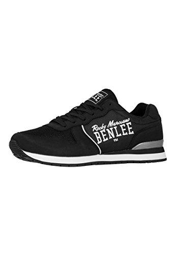 BENLEE Herren Battles Sneaker, Black, 39 EU