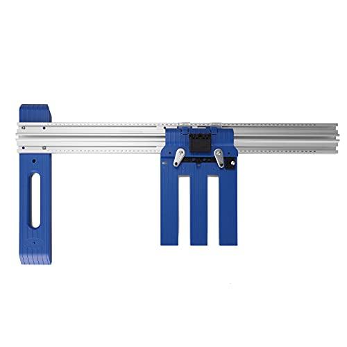 Máquina de corte HT-RC60 Herramienta auxiliar Sierra de elevación manual Placa inferior Pista de sierra circular multifunción Herramientas de tabla de corte de corte al hilo Marco de posicionam