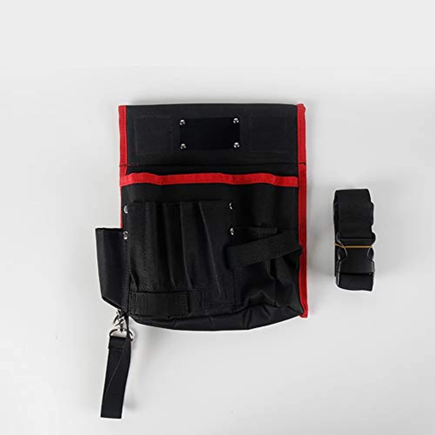 High Quality Tool Pouch 600D High Density Waterproof Oxford Car Wrapping Tool Bag Black Pocket Waist Apron MO308