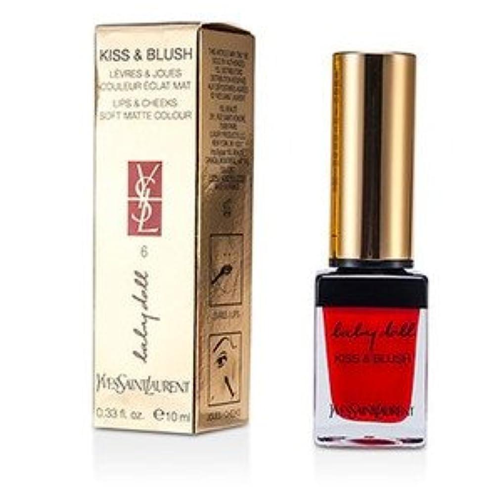 Yves Saint Laurent(イヴサンローラン) ベビー ドール キッス&ブラッシュ - #06 Rouge Libertine 10ml/0.33oz [並行輸入品]