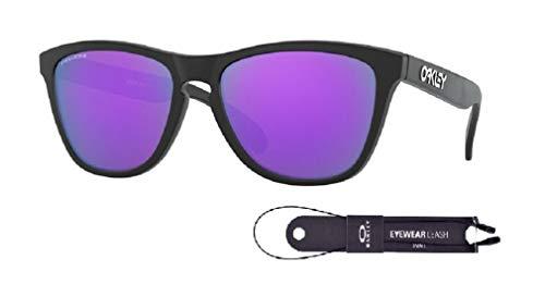 Oakley Frogskins OO9013 Sunglasses For Men+BUNDLE with Oakley Accessory Leash Kit