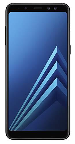 Samsung Galaxy A8 - Enterprise Edition - Smartphone (14.2cm (5.6 Zoll) 32GB interner Speicher, 4GB RAM, Android, Black) Deutsche Version (Generalüberholt)