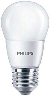 Philips Essential LED Lustre Bulb- 6W, E27 Capbase- Warm White, 1 Year Warranty