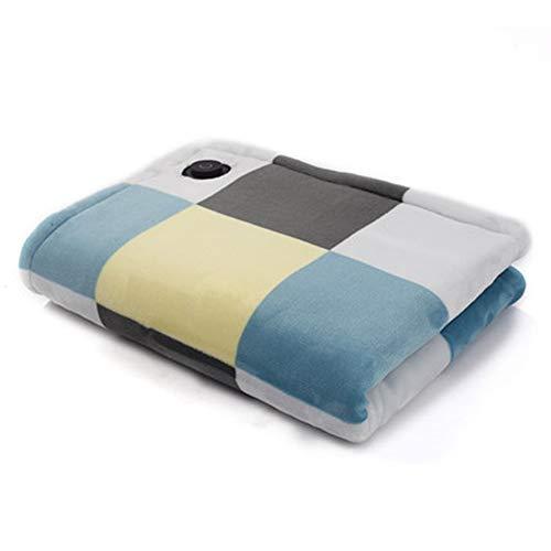 Mantilla eléctrica eléctrica eléctrica portátil de tamaño portátil, la más cálida alternativa...