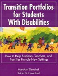 Transition Portfolios for Students With Disabilities (03) by Demchak, Mary Ann - Greenfield, Robin G [Paperback (2002)]