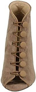 Kidderminster Spot On Open Toe Heels For Women (Tuepe 38 EU)