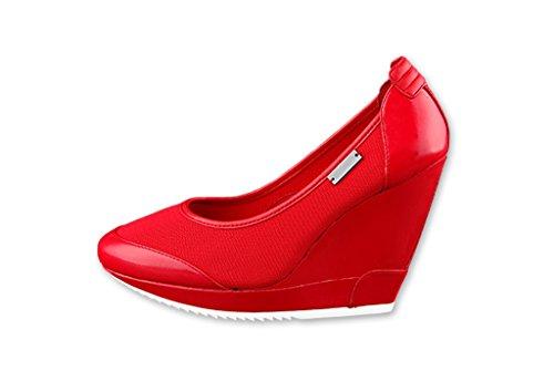 adidas slvr French Olympics Ballerina Pumps Red US8,5/EU40,6