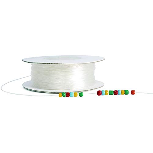 Colorations Clear Stretchy Beading Cord - 100 Yards (Item # CLRCORD)
