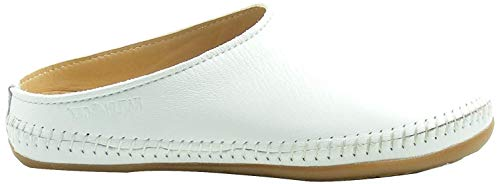 HAFLINGER, Softino Damen Hausschuhe Pantoffeln (37 EU, hellblau)