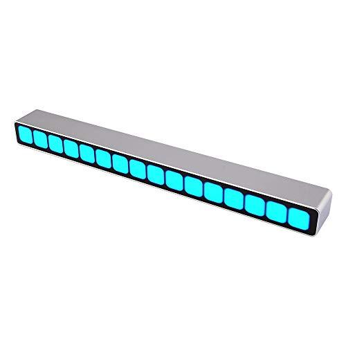 tsp Electronic Accessories & Supplies Montiertes 16 Level Sound Control Level Indicator Blue LED Mono VU Meter Audio Musik Spektrum Board AGC für MP3 Lautsprecher Verstärker DIY