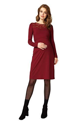 Queen Mum Robe de maternité 91644 - Rouge - 38