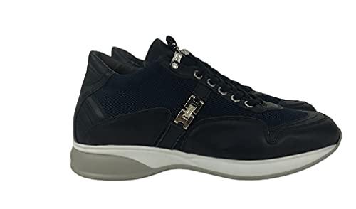 Cesare Paciotti 4US Sneakers Blu da Uomo in Pelle (Numeric_41)