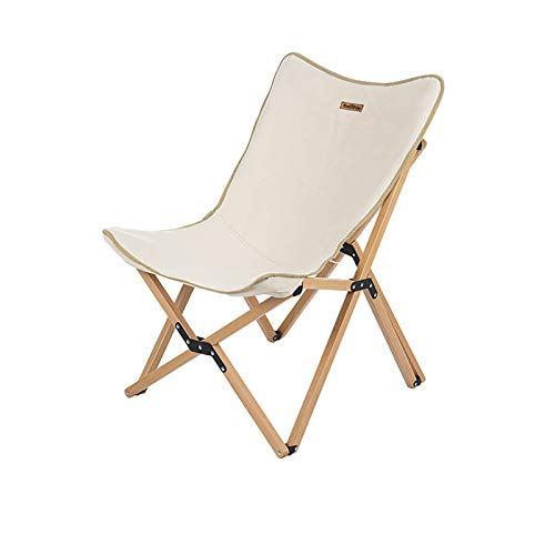 WLDQ Camping Folding Chair Heavy Duty Support Frame Collapsible Outdoorstrong Stable Padded Portable for Outdoor