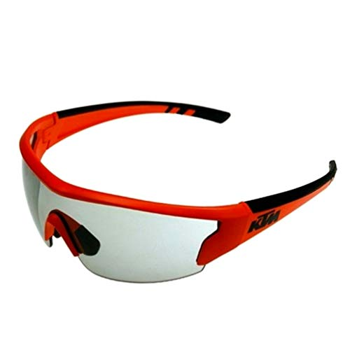 KTM Bike Sonnenbrille - Photochromic Selbsttönende Gläser - 100% UV + Schlüsselband