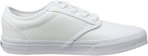 Vans Atwood Unisex-Kinder Sneakers, Weiß ((Canvas) white/ / 7HN), 29
