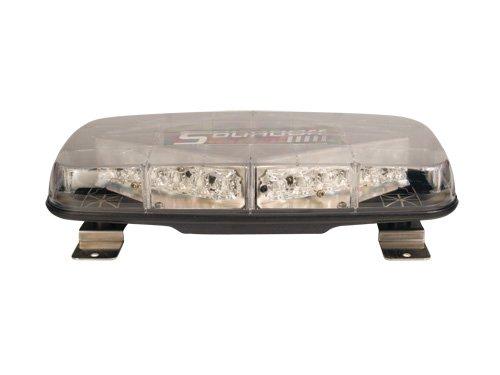 Sound Off Signal EPL7PDAC Pinnacle Permanent Mount Mini LED Light Bar...