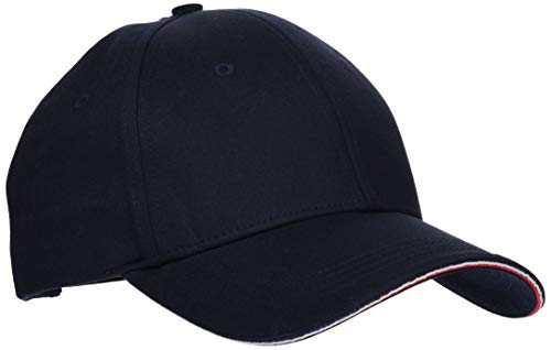 Tommy Hilfiger Elevated Corporate Cap Gorro/Sombrero, Blue, OS para Hombre