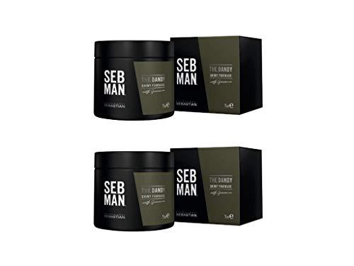 Seb Man The Dandy Light Hold Pomade Duo Pack 2 x 75 ml (150 ml)