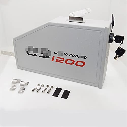 XJSM para B-MW R1200GS LC Adventure R 1200 GS 2013-2019 Caja De Herramientas De Aluminio Caja Decorativa Caja De Herramientas En El Soporte Lateral Izquierdo Motocicleta (Size : R1200 GS)