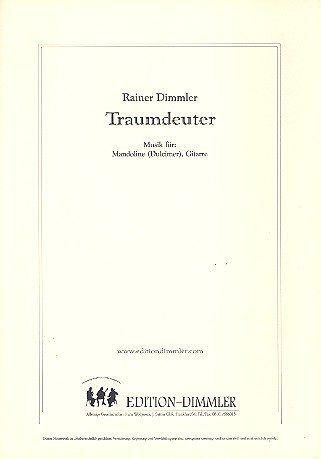 Traumdeuter: für Mandoline (Dulcimer) und Gitarre