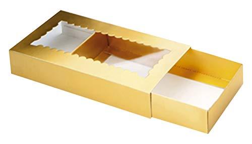 IBILI 799100Carcasa para Turron Papel Oro 10x 22x 3cm