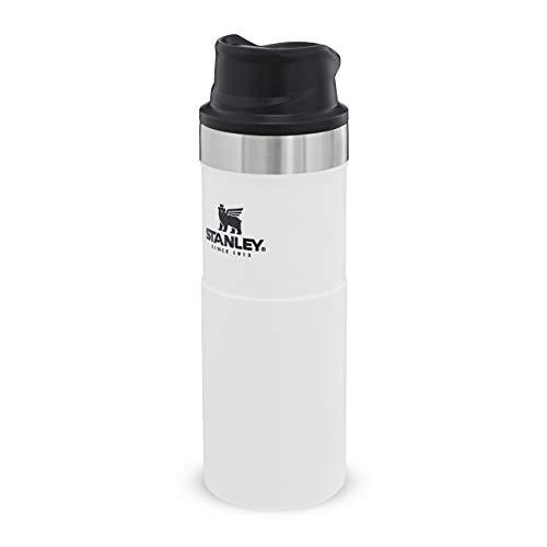 Stanley Travel Mug Becher, Andere, Polar White, 0.47 L