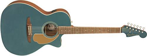 Fender Newporter Player Ocean Teal Elektro-Akoestisch Staal String Gitaar