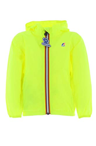 K-Way Claudette Cappotto, Giallo (Yellow Fluo K59), 116 (Taglia Unica: 6Y) Bambina