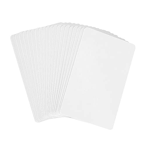 20pcs NTAG215 Cards,Blank NTAG 215Card,White NFC Tags 100% Compatible with Amiibo and TagMo,Writable and Programmable,Printable,Scanning Fast Response