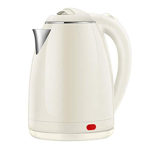 Hervidor eléctrico para el hogar Gran capacidad 1500w Alta potencia para calentamiento rápido Hervidor de té eléctrico, Hervidor de acero inoxidable 1.8L, Hervidor inalámbrico Apagado automático Un f