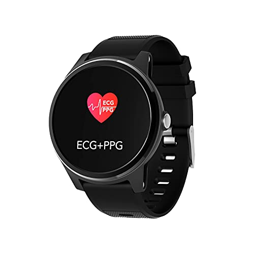 NXX Reloj Inteligente Hombres Smartwatch Monitor De Actividad con Modos Deportivos PulsóMetro CaloríAs Monitor De SueñO PodóMetro Ip67 Impermeable Reloj Compatible con Android iOS