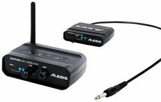 Alesis GuitarLink Wireless - Sistema di trasmissione e ricezione audio senza fili per chitarra e basso
