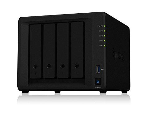 Synology DiskStation DS418 4ベイ NAS キット 日本正規代理店アスク サポート対応 クアッドコアCPU搭載 保...