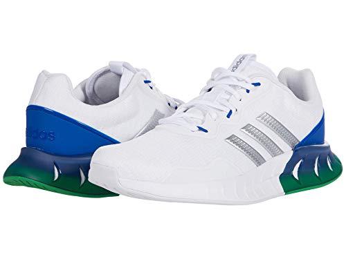 adidas Men's Kaptir Super Running Shoes, White/Silver Metallic/Dash Grey, 7